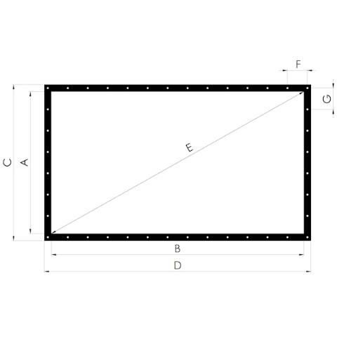 Lace & Grommet screen rentals – Projector Rental Orlando